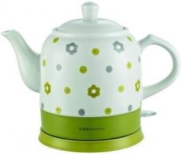 Керамический чайник VES Electric VES1022-GN
