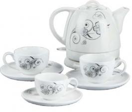 Керамический чайный набор VES electric VES2100