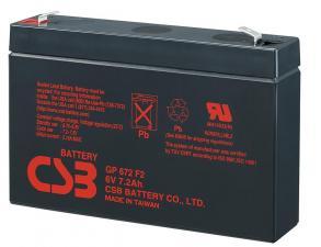 Аккумуляторная батарея CSB GP 672 (6V 7.2Ah)