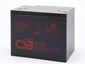 Аккумуляторная батарея CSB GPL 12750 (12V 75Ah)