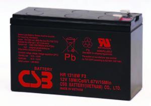 Аккумуляторная батарея CSB HR 1218W (12V-18Ah)