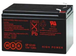 Аккумуляторная батарея WBR GP 12120 (12V-12Ah)
