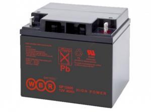 Аккумуляторная батарея WBR GP 12400 (12V-40Ah)