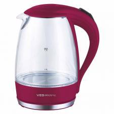 Стеклянный чайник VES Electric VES2006-R