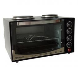 Настольная духовка с плитками и таймером Sakura SA-7020HBK