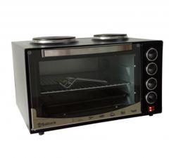 Настольная духовка с плитками и таймером Sakura SA-7021HBK