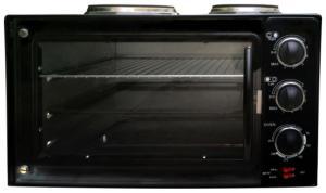 Настольная духовка с плитками Sakura SA-7015HBK