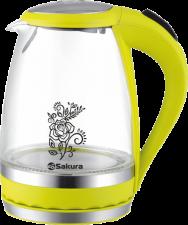 Стеклянный чайник Sakura SA-2712GR