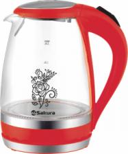 Стеклянный чайник Sakura SA-2712R