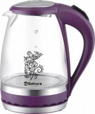 Стеклянный чайник Sakura SA-2712V