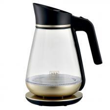 Чайник стеклянный кувшин с подсветкой VES electric H-101-G