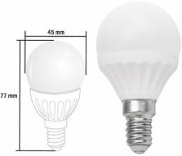 "Лампа CAMRY ""Мини-глоб"" циколь E14 радиатор керамика 4W свет теплый"