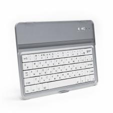 Беспроводная Bluetooth клавиатура для iPad Mini. Совместима с iPad Mini 3G, 3GS, 4G и iPod Touch. Серебряная