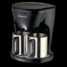 Кофеварка электрическая Sakura SA-6108BK
