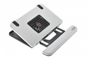Охлаждающая подставка для ноутбука Notebook Cooler Floston AirGear 4, пластик, hub, White (netbook)
